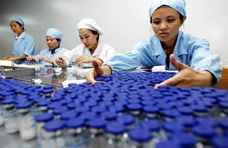 China pharmaceutical industry