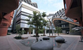 Masdar city utilizes renewable energy