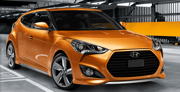 Hyundai Veloster 2013 (Credit : Hyundai USA)