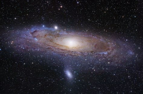 The Andromeda galaxy (Credit: Courtesy of Robert Gendler)
