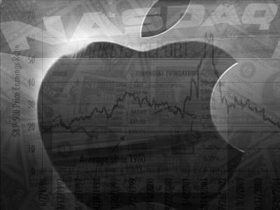 Apple in stockmarket