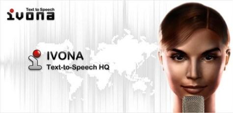 Ivona, Text-to-speech software (Credit: Ivona/Google Play)