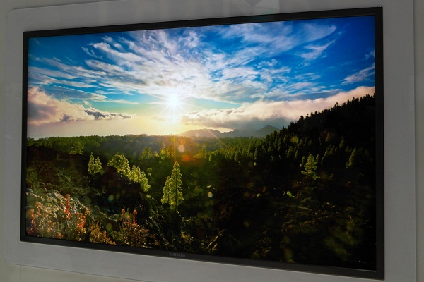 """Samsung 70"""" 4k x 2k prototype as demoed at CES2012"""