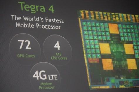 Nvidia's Tegra 4 processor