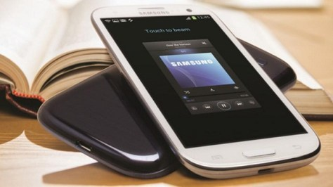 Samsung mobile device (Credit: Samsung)