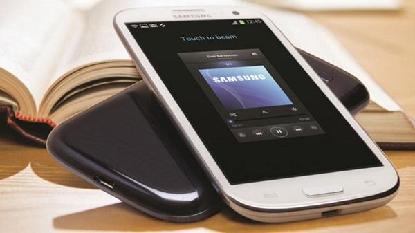 Samsung mobile device (Credit: Samsung)