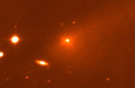 Comet 67P/Churyumov-Gerasimenko (Credit: ESA and European Southern Observatory)
