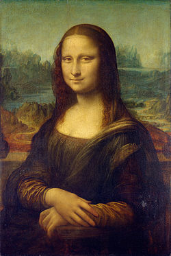 Mona Lisa (Credit: Wikipedia)