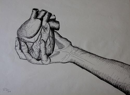 Giving heart (Credit: Ru Tover/Flickr)