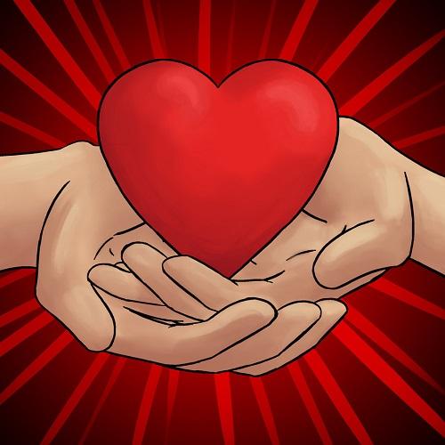 A given heart (Credit: Senselesssquirrel/Deviantart)