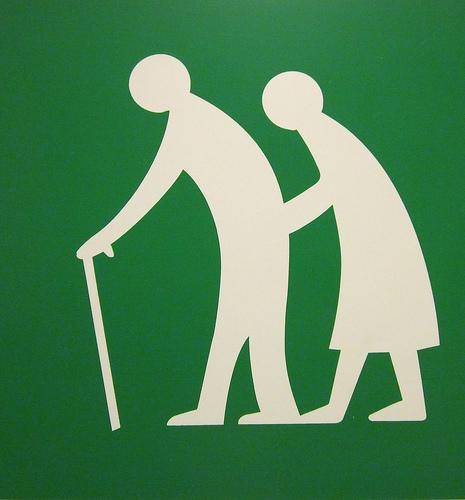 Sign of older or frail people (Image credit: Monceau/Flickr)