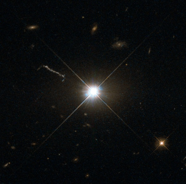 Quasar 3C 273 (Credit: ESA/Hubble & NASA)