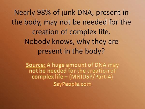 Junk DNA - SayPeople