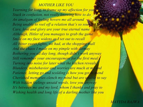 Mother like you