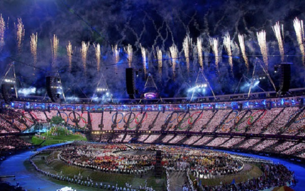 Olympic Opening Ceremony 2012  (Credit: Nick J Webb/Flickr)