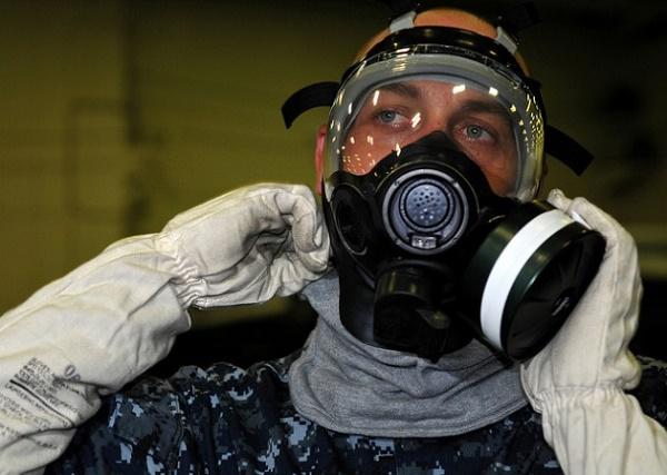 Gas Mask (Credit: User Surface Forces/Flickr)