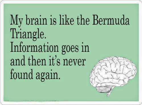 Brain is like Bermuda triangle