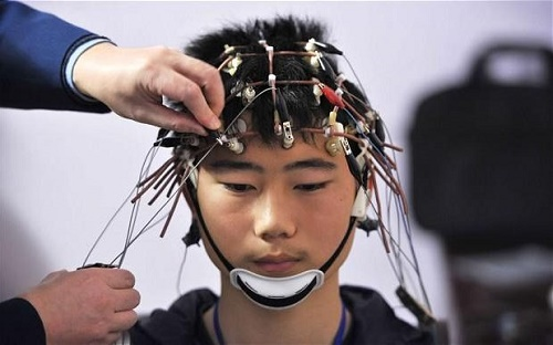 """Uploading new skills to the brain just as in """"The Matrix"""" (Credit: Reuters)"""