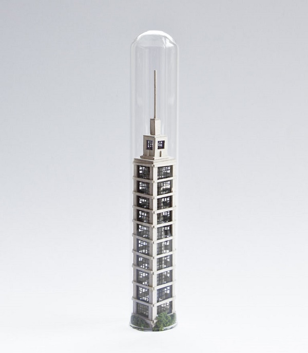 Tiniest skyscrapper of the world