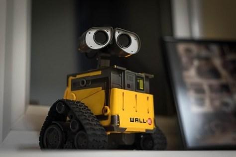 Wall-E robot by Pixar