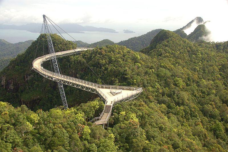 Bridge in Pulau Langkawi, Malaysia (Source: wikipedia.org)