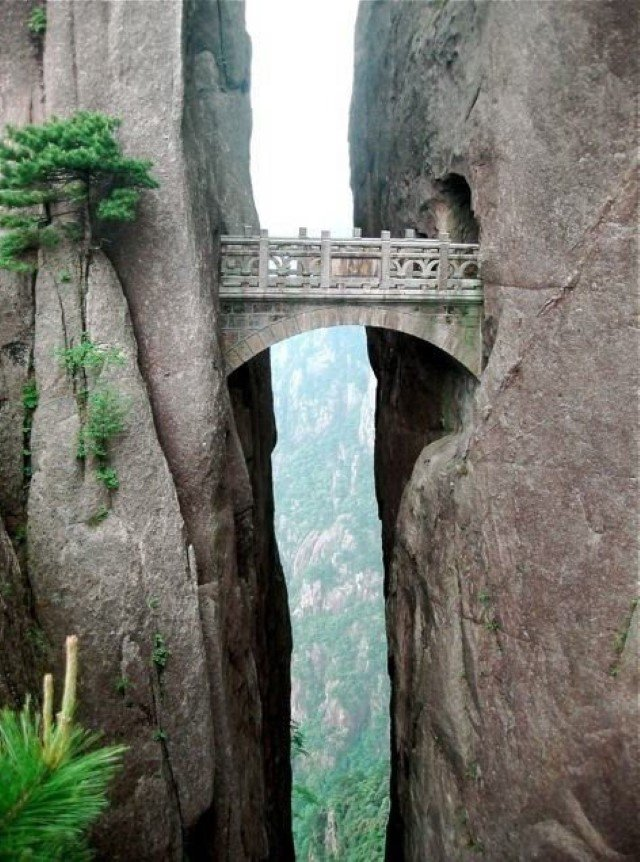 The Bridge of Immortals, China (Source: Anonymous)