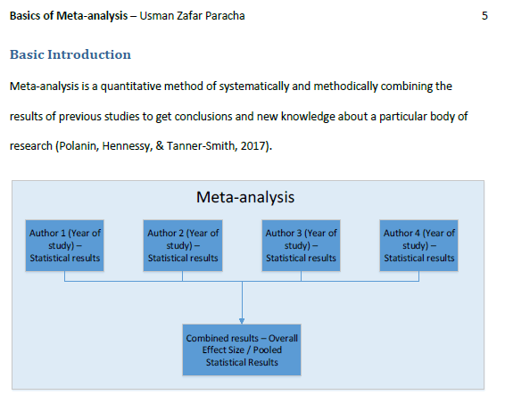Page 5 of the ebook titled Basics of Meta-analysis with Basic Steps in R