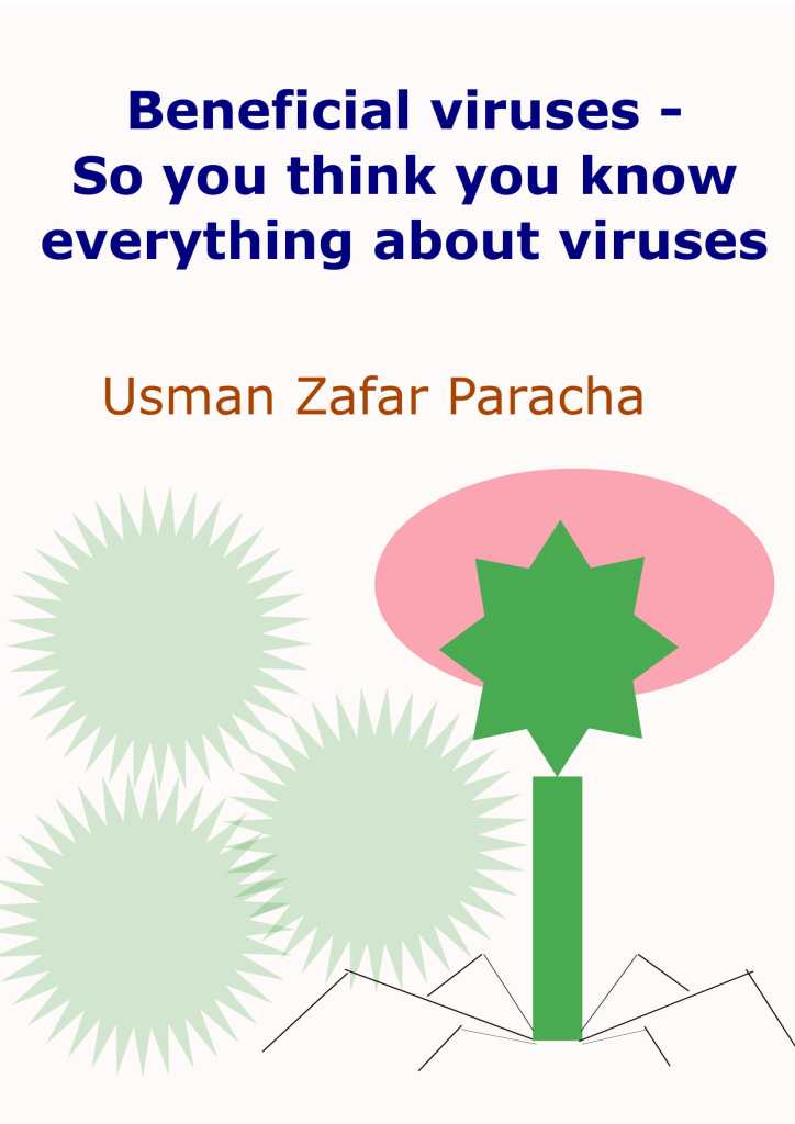 """Cover page of """"Beneficial viruses – So you think you know everything about viruses"""""""