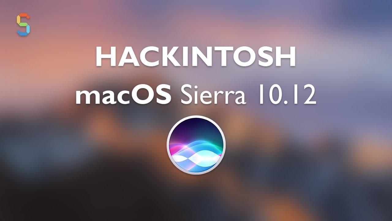 Hackintosh macOS Sierra 10 12 | Instalação | Sayro Digital