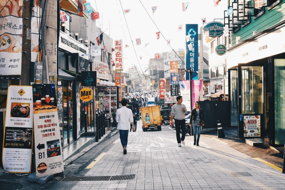 Street Photographer | Itaewon Seoul South Korea