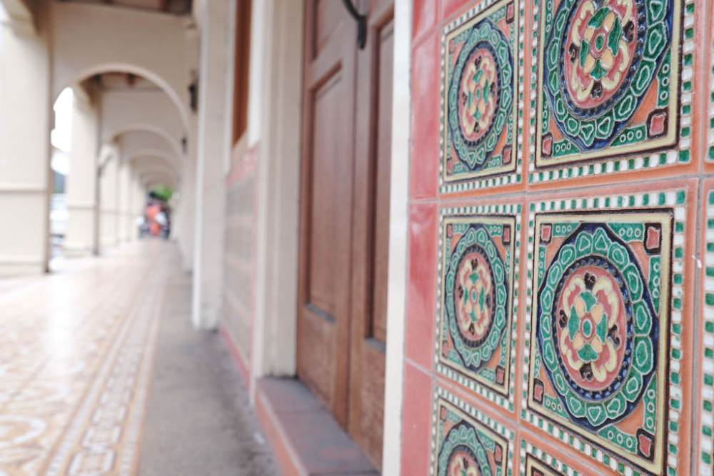 Travel Photographer | Peranakan tiles in Georgetown Penang Malaysia