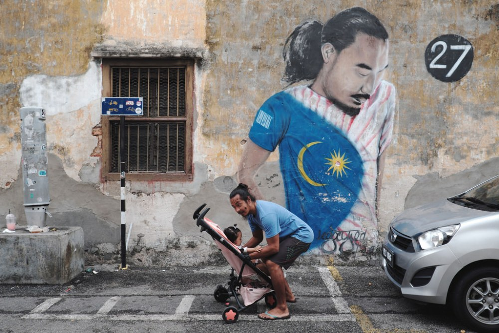 Travel Photographer | Street art in Georgetown Penang.