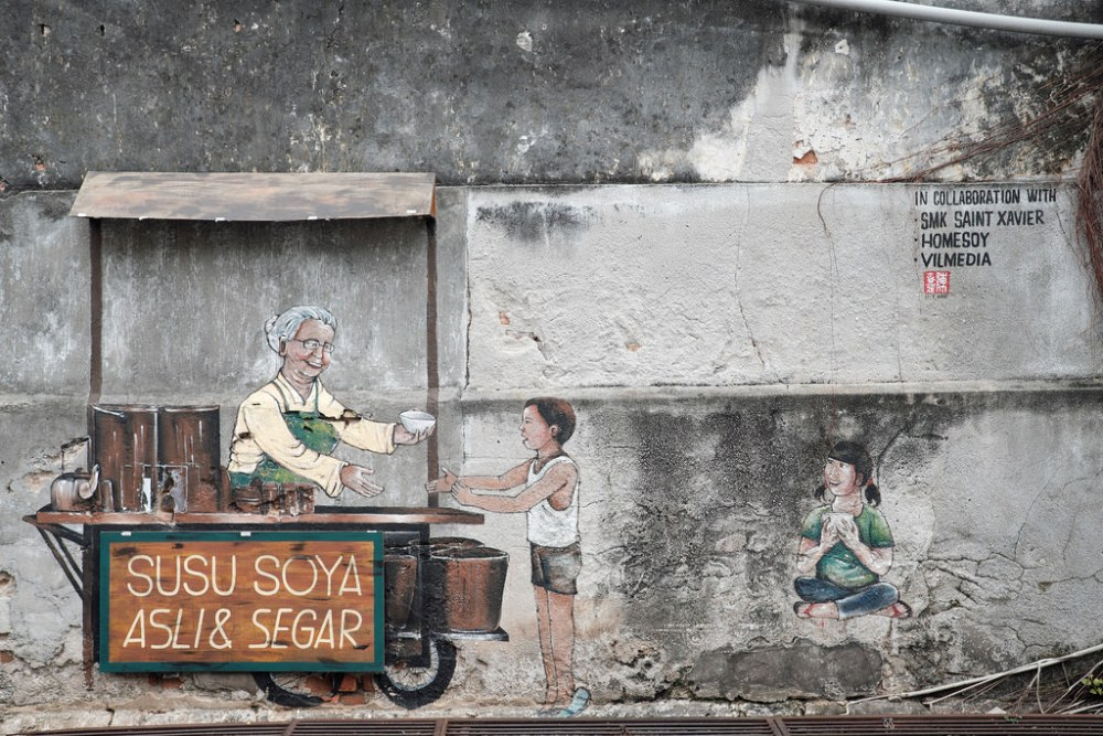 Travel Photographer | Street art in Georgetown Penang Malaysia