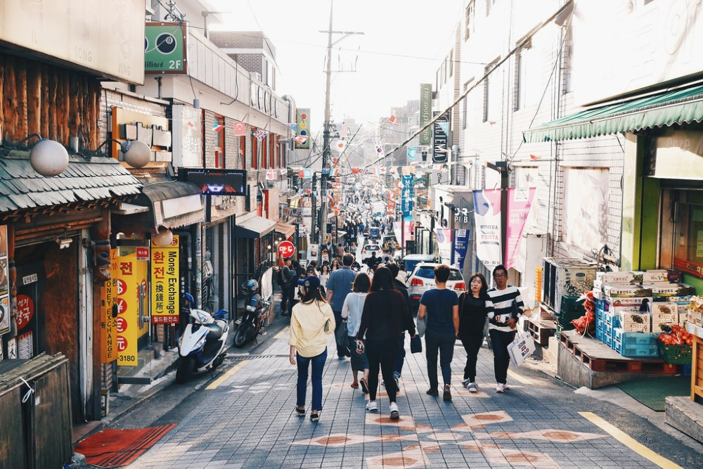 Travel Photographer | Itaewon Seoul South Korea