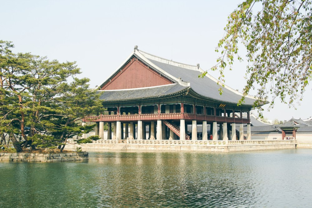 Gyeongbokgung Seoul South Korea