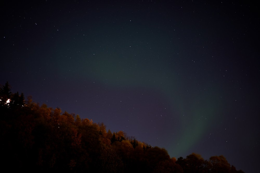 Travel Photographer | Autumn Aurora Northern Lights at Tromsø Norway
