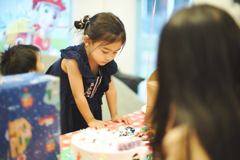 Family photographer | Kids birthday party in Singapore