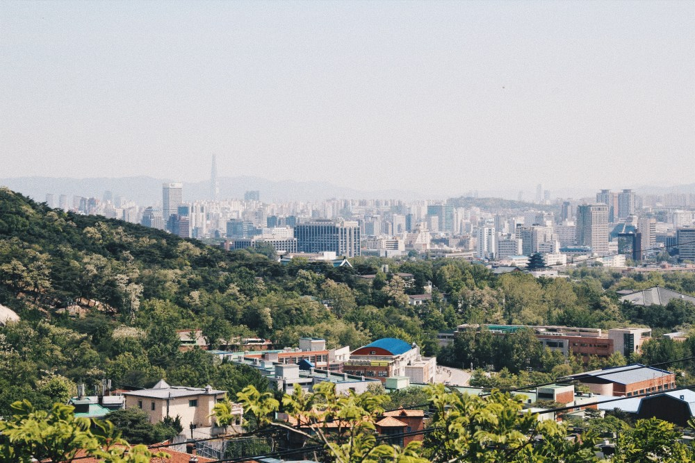 Photographer | Hiking Inwangsan Seoul South Korea
