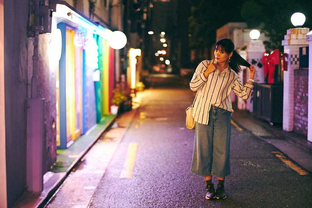 Photographer   An alley in Yeonnamdong Seoul South Korea