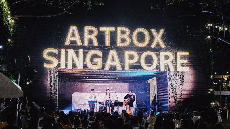 Singapore: Artbox 2019 at The Grounds@Kranji