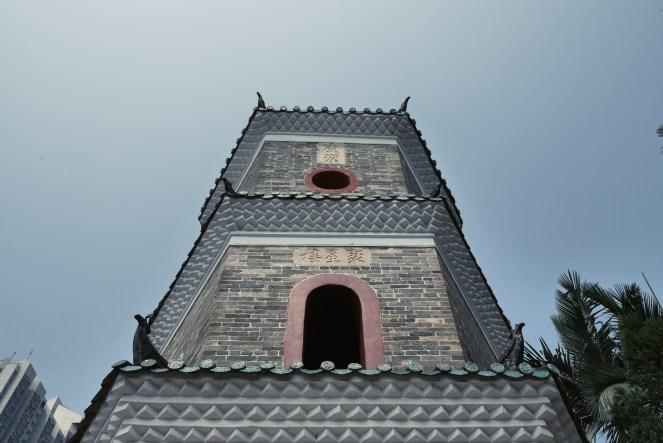 Tsui Sing Lau Pagoda at Ping Shan Heritage Trail.