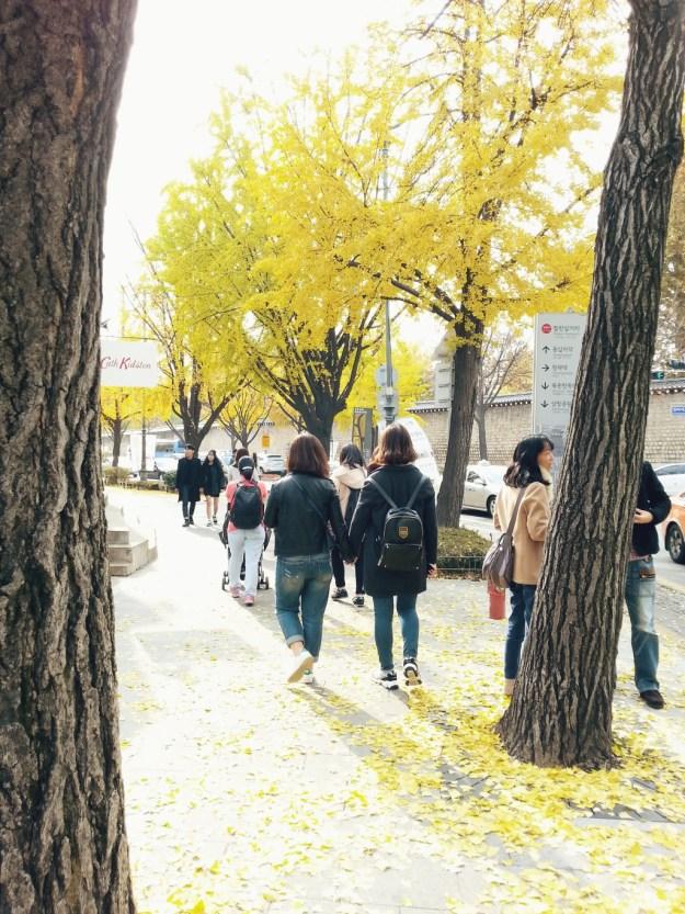 Samcheongdong, Seoul.