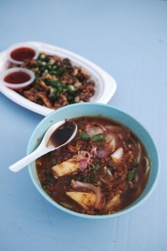Travel Food Photographer   Assam Laksa Gurney Drive Penang Malaysia