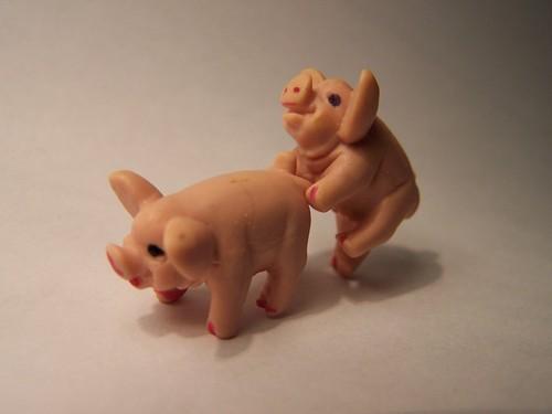 """""""Making Bacon!"""":  Got Swine Flu?"""