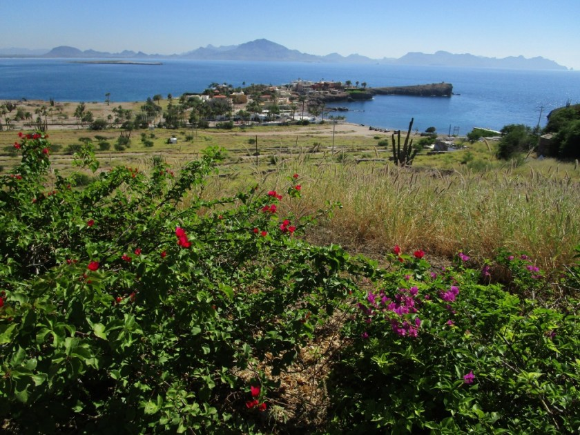 Looking east to Guaymas with San Carlos on the left