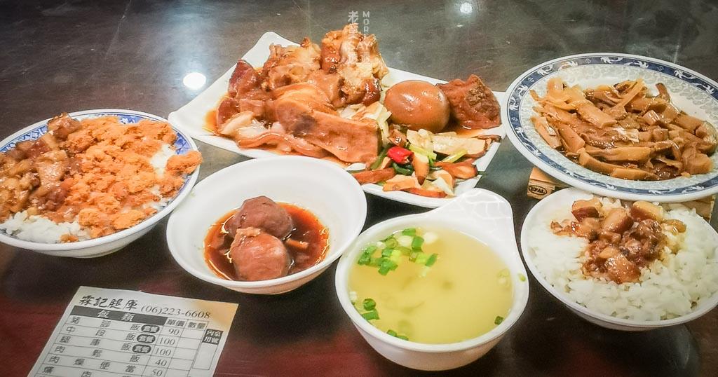 [台南豬腳飯]海安路霖記腿庫,中段飯,豬腳麵線,肉鬆飯,豬腳禮盒