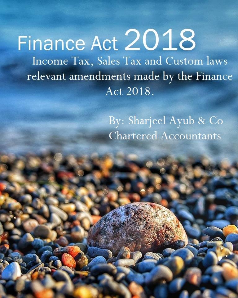 Summary on Finance Act 2018