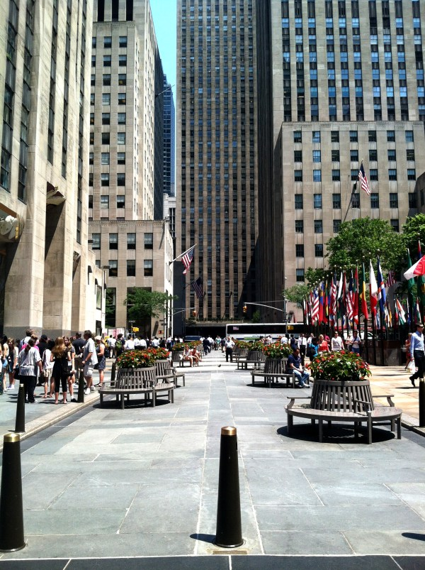 Villard Houses And Rockefeller Center Nyc