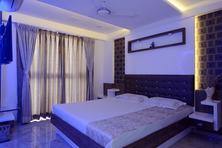 Residential Project - Master Bedroom Interior Design by Sayyam Interiors