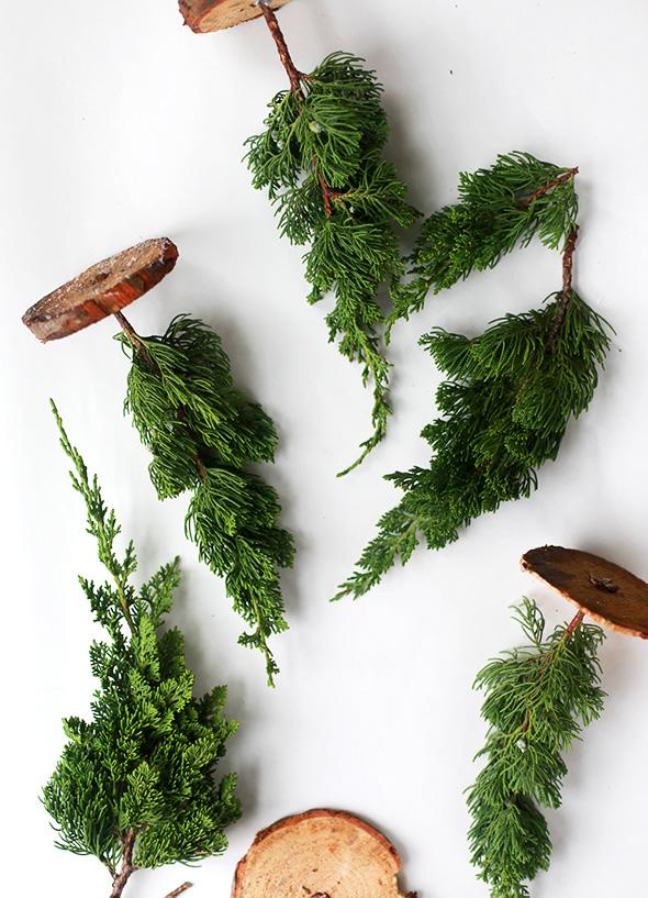 Diy Fresh Mini Christmas Trees (from Tree Lot Scraps
